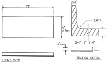 Integral-Coved-Curb